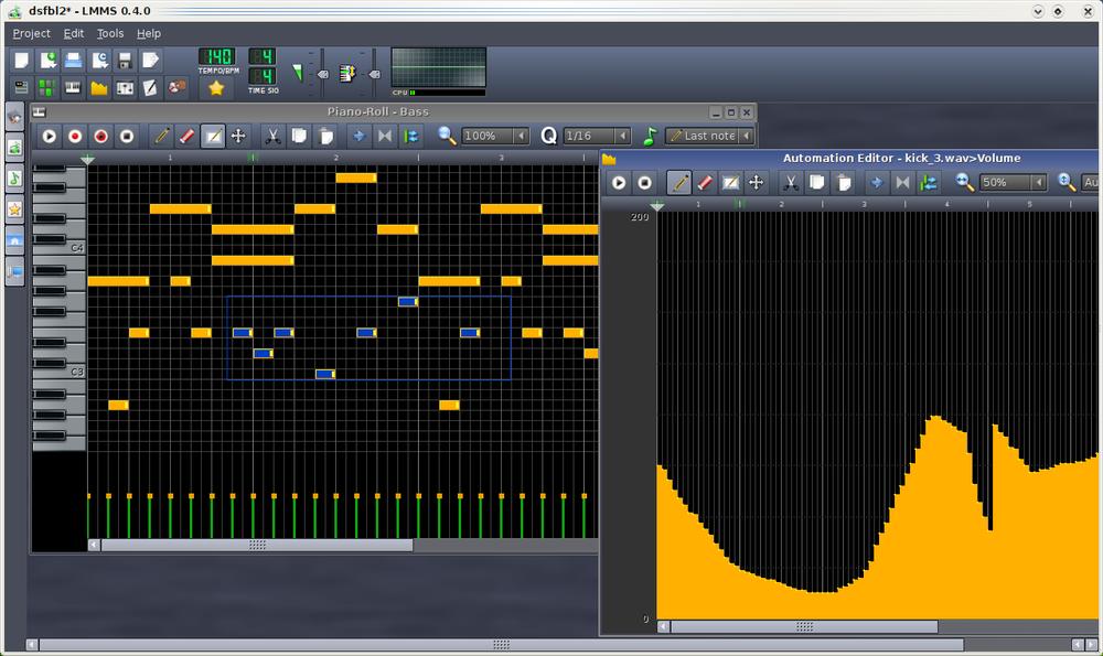 Lmms logiciel de cr ation musicale gratuit tictactoc - Table de mixage virtuel a telecharger gratuitement ...